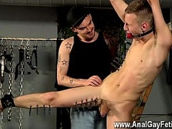 Gay clip of The smoking authoritative guy begins off with beating the