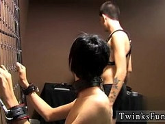 Gay emo and black dude fuck Baretwinks heads all out in this restrain