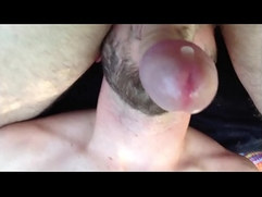 Sucking my balls and squirting a powerful nut