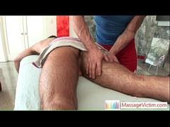Dodge Wolf gets his first gay massage By MassageVictim