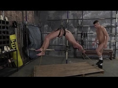 Bound Michael Wyatt is roughly fucked by Dmitry Osten