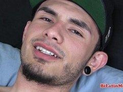 Big dick thug  Latino jerking off