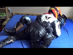 Leatherbiker have fun