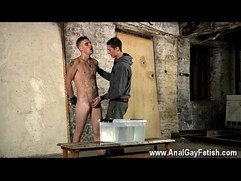 Black chub gay porn Poor Leo can't escape as the gorgeous lad gets