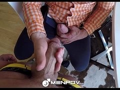 MenPOV - Dirty Big Brother Adam Herst Fucks Joels Mason