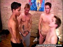 College Boys Gangbang Gay Twink