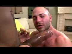 Gay big black monster cock interracial blowjob ass fuck