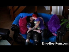 Twink movie of Hot top Drake Blaize boinks the smash out of red head
