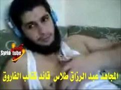 Syrian rebel masturbating on webcam