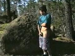 boys outdoors fuck