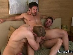 Cayden, Danny and Sean gay threesome 13 by RandyBlow
