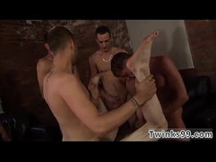 Mature guy gay porn video James Gets His Sold Hole Filled!