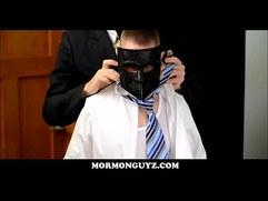 Masked Mormon Boy Fucked By Stranger