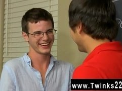 Gay orgy Timo Garrett gives his teacher Julian Smiles a classic apple