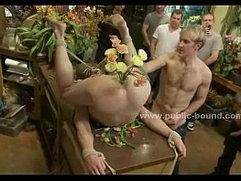 Gay hunk sado maso group sex video
