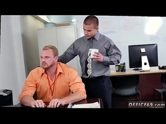Circle jerk oral straight gay First day at work